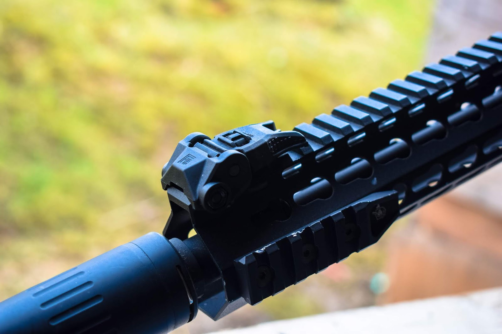 PTS ENHANCED POLYMER BACK UP IRONSIGHTS REVIEW! - Femme