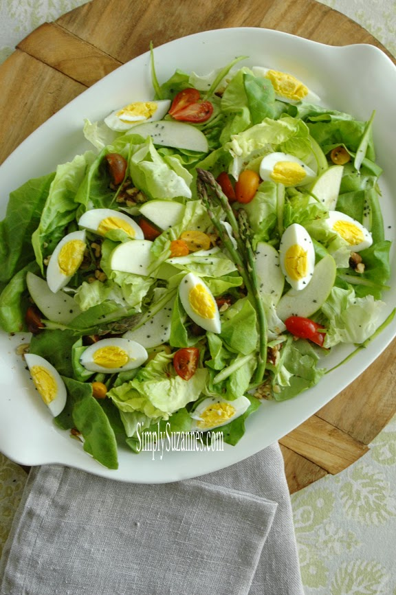a simple Spring salad