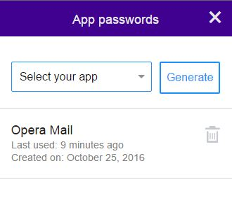 unable to verify account name or password for yahoo mail