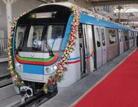 Ameerpet, Hitec City Segment Of Hyderabad Metro Flagged Off