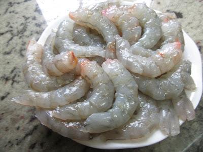 Calamares en salsa de langostinos olla GM.