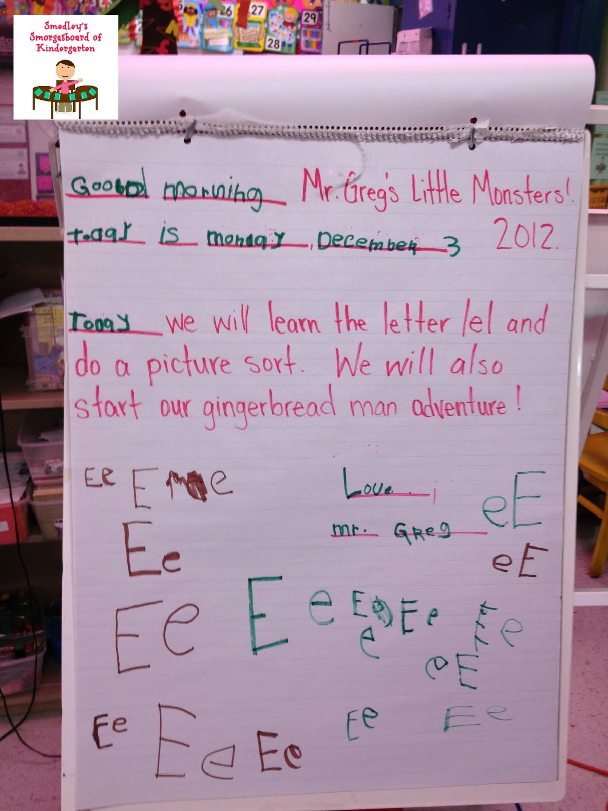 The Kindergarten Smorgasboard: Morning Meeting Monday!