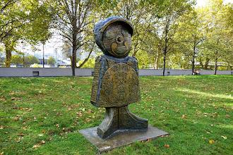 Paris : Les Enfants du Monde de Rachid Khimoune - Parc de Bercy - XIIème
