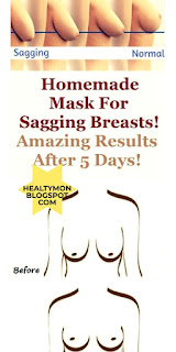 HOMEMADE MASK FOR SAGGING BREASTS! AMAZING RESULTS AFTER 5 DAYS!