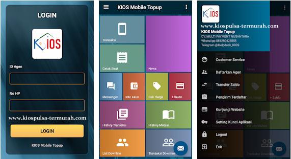 Cara Transaksi Pulsa Via Android Server Kios Pulsa