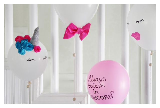 unicorn balloon craft idea