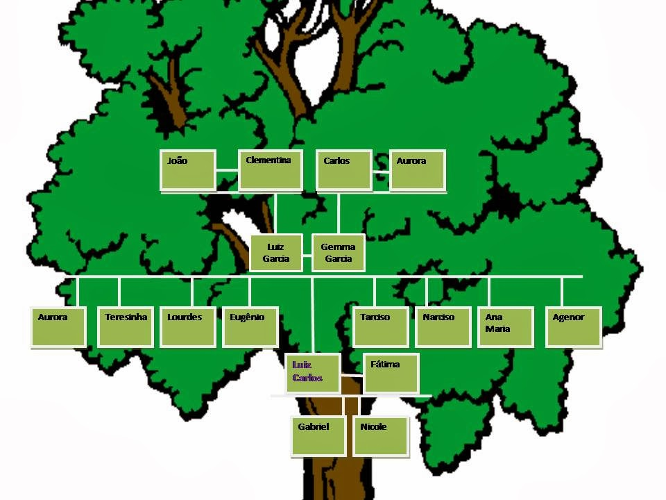 Imagens De Arvore Para Imprimir: Imagens De Arvore Genealogica Da Familia QD28