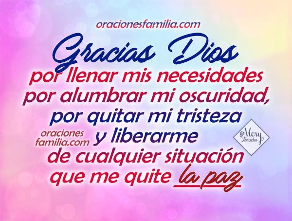 Oración corta cristiana de la mañana, buenos días, inicio del día con oraciones en imágenes por Mery Bracho.