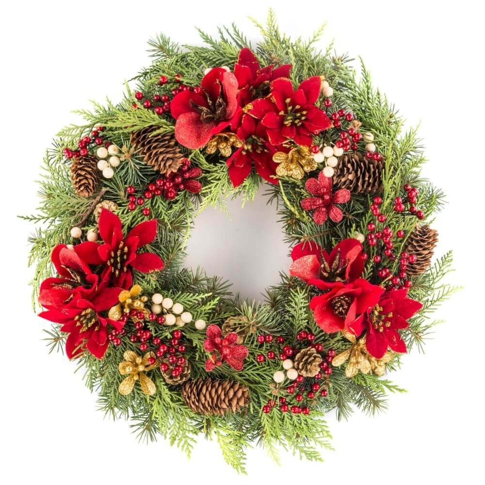 Christmas Wreath Clip Art