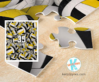 Personalized volleyball jigsaw puzzles for girls and boys by katzdzynes