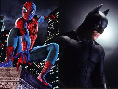 Resultado de imagem para homem aranha e batman