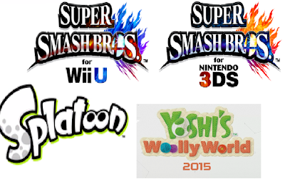 Top E3 2014 games Super Smash Bros. For Wii U 3DS Splatoon Yoshi's Woolly World