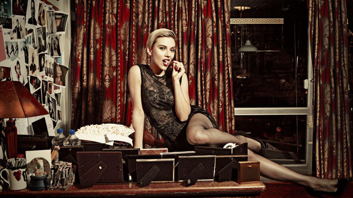 Scarlett Johansson bibir seksi