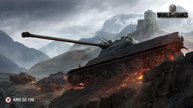 World Of Tanks (AMX 50 100) HD