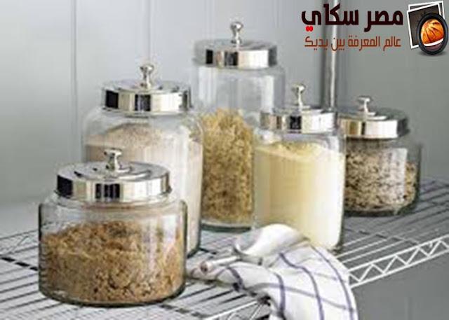 أوانى وأدوات الطبخ وكيفية الحفظ والتخزين Pots and kitchen utensils