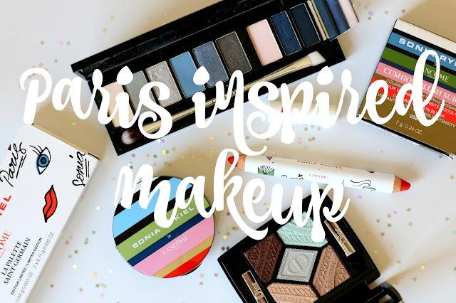 Paris, palette, makeup, lancôme, rykiel