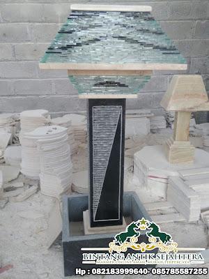 Jual Kap lampu Marmer