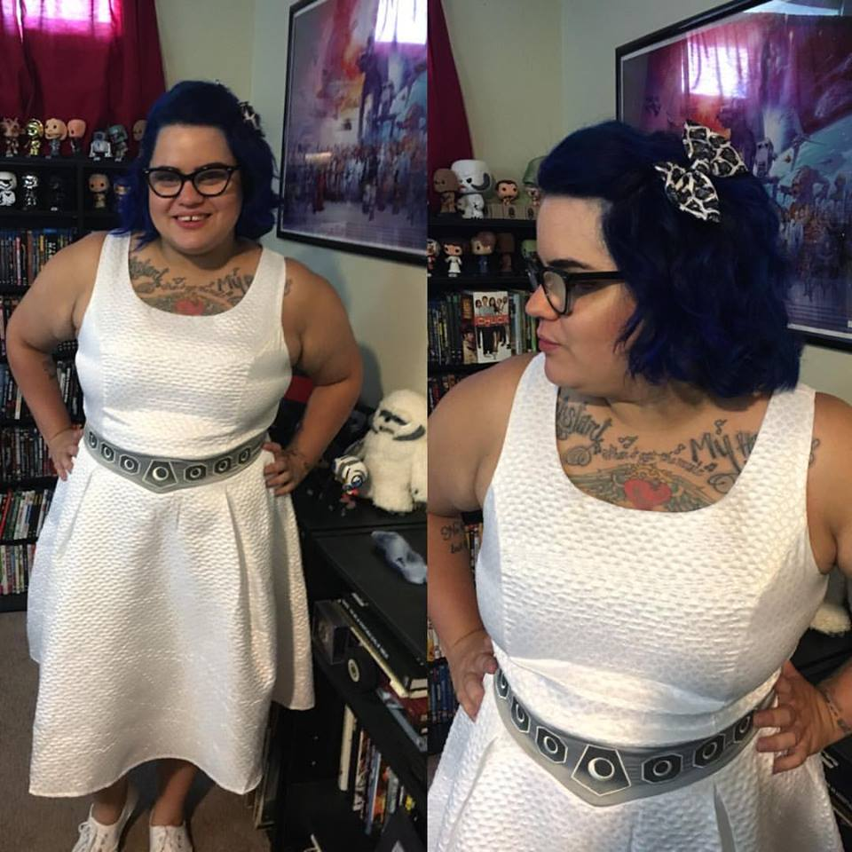 Have You Met Ashley?: Plus Size OOTD: Princess Leia Star ...