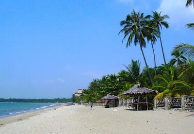 Pesisir Pantai Pulau Anyer
