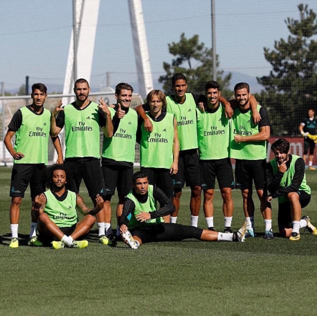 Real Madrid vui hết nấc trước đại chiến với Barcelona 5