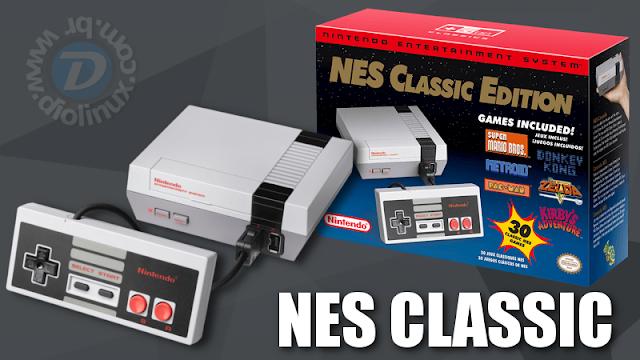 NES CLASSIC COM LINUX