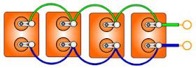 паралельное соединение конденсаторов для трехфазного двигателя