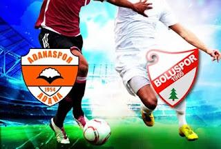 Adanaspor - Boluspor Canli Maç İzle 16 Nisan 2018