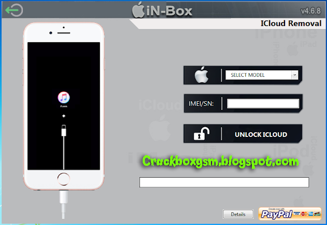 Capture Icloud Removal Tools In-Box v 4.8.0 Full Cracked (Latest) Free Download iPhone Jailbreak