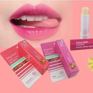Wardah Everyday Fruity Sheer Lip Balm Grape | Depok