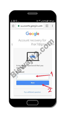 Attempt to restore account
