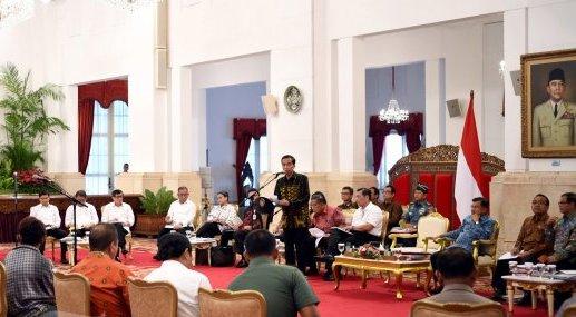 Tegas! Jokowi Bicara sebagai Panglima Tertinggi di Depan Panglima TNI