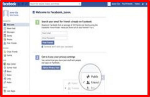 free facebook sign up form