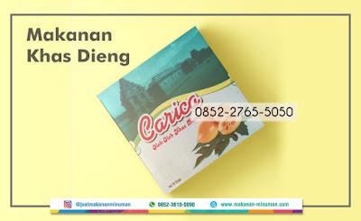 makanan khas dieng, 0852-2765-5050