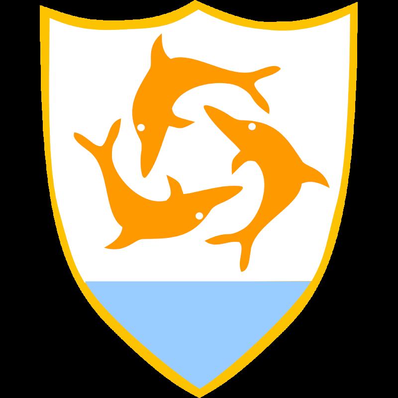 Logo Gambar Lambang Simbol Negara Anguilla PNG JPG ukuran 800 px