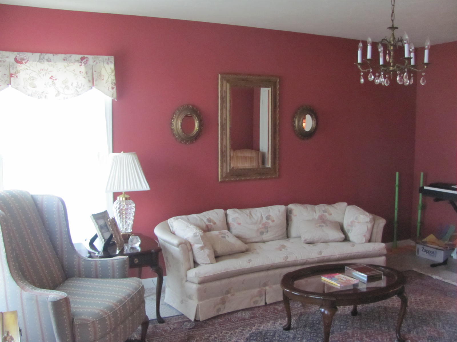 WEAFER DESIGN: Chocolate Brown Living Room with Gold