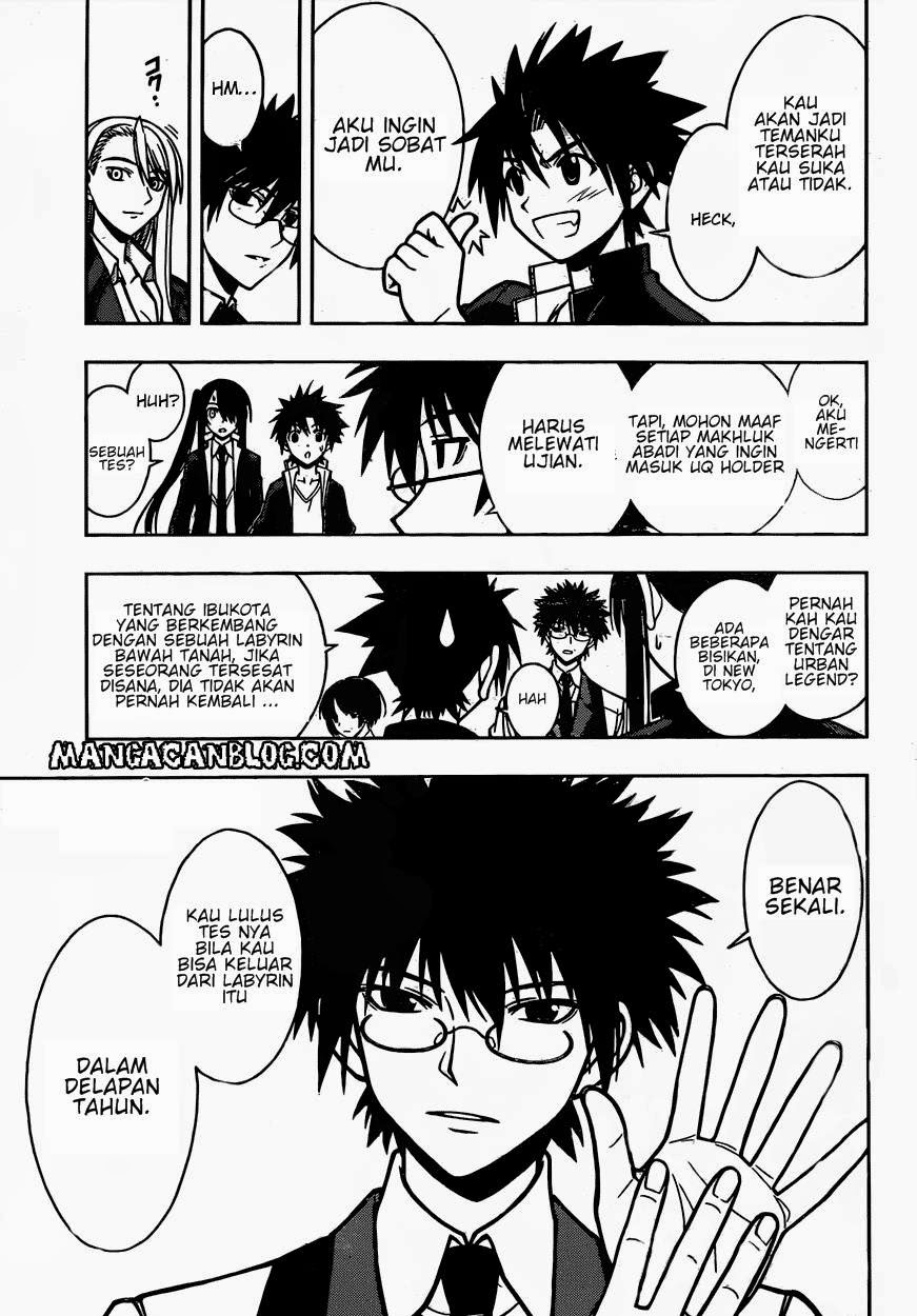 Manga UQ Holder! Chapter 7 Bahasa Indonesia