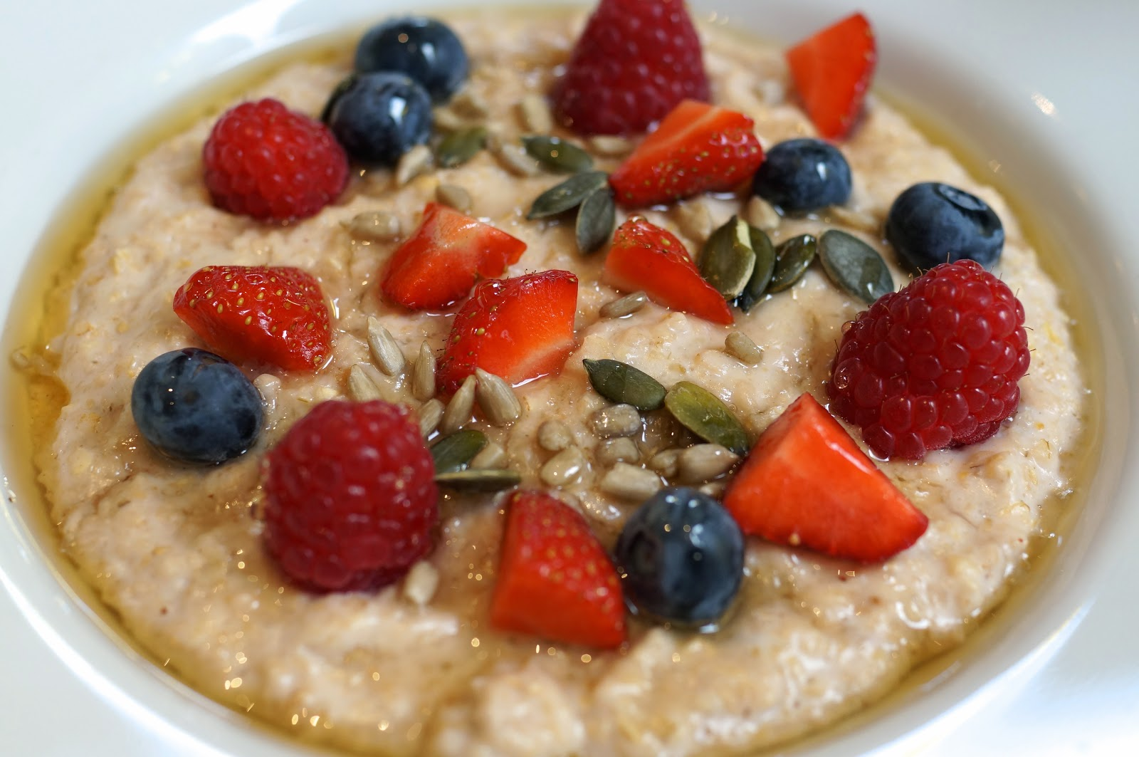 protein fruit porridge