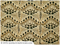Lace Knititng chart # 3. Beautiful!