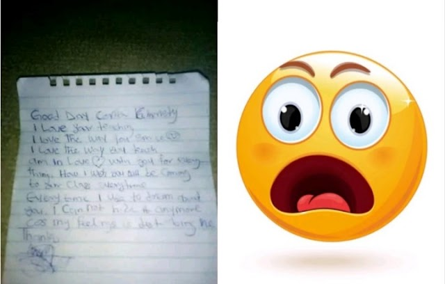 Corps member shares love letter she got from a Jss2 student