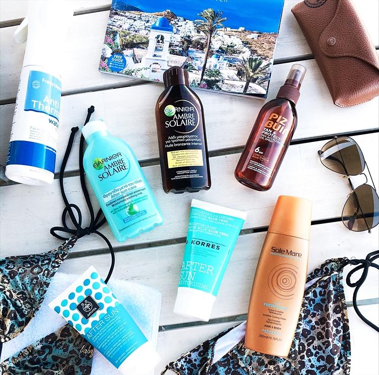 Jelena Zivanovic Instagram.Best sunscreen products.Najbolji proizvodi sa suncanje.