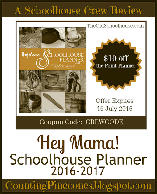 Coupon Code Hey Mama Planner 2016 2017