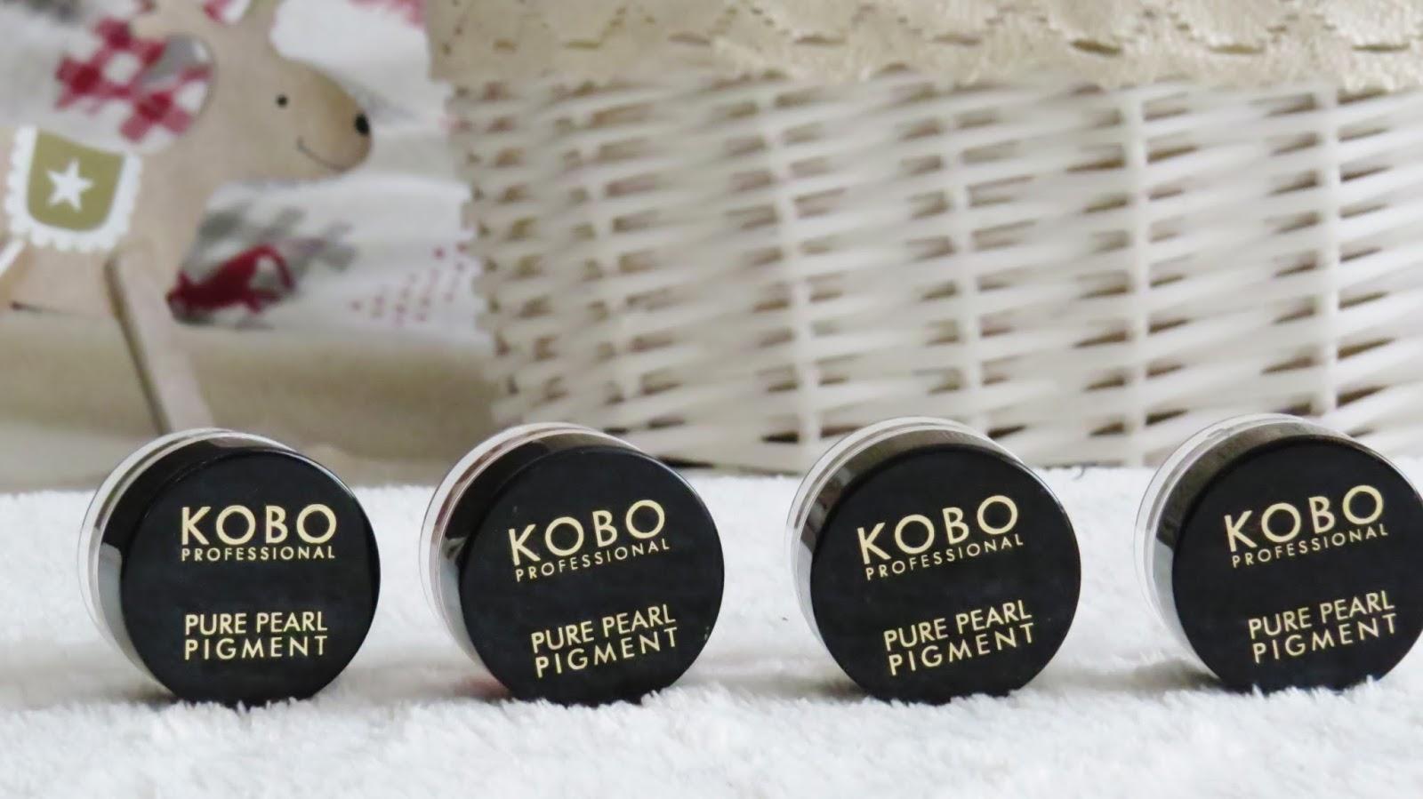 Kolorowe pigmenty od marki KOBO
