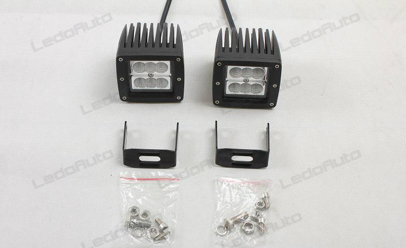 LedoAuto Automotive Lighting Modify: Jeep Wrangler LED Work Light ...