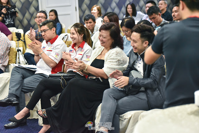 Million Loves in Me 寵我 Press Conference   羅冠蘭 虞日新 狄妃 rubydfaye 李伟燊 得奖电影 Grand Millennium Kuala Lumpur