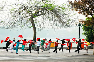 Exercising – From a habit to Hanoi's culture piece 2