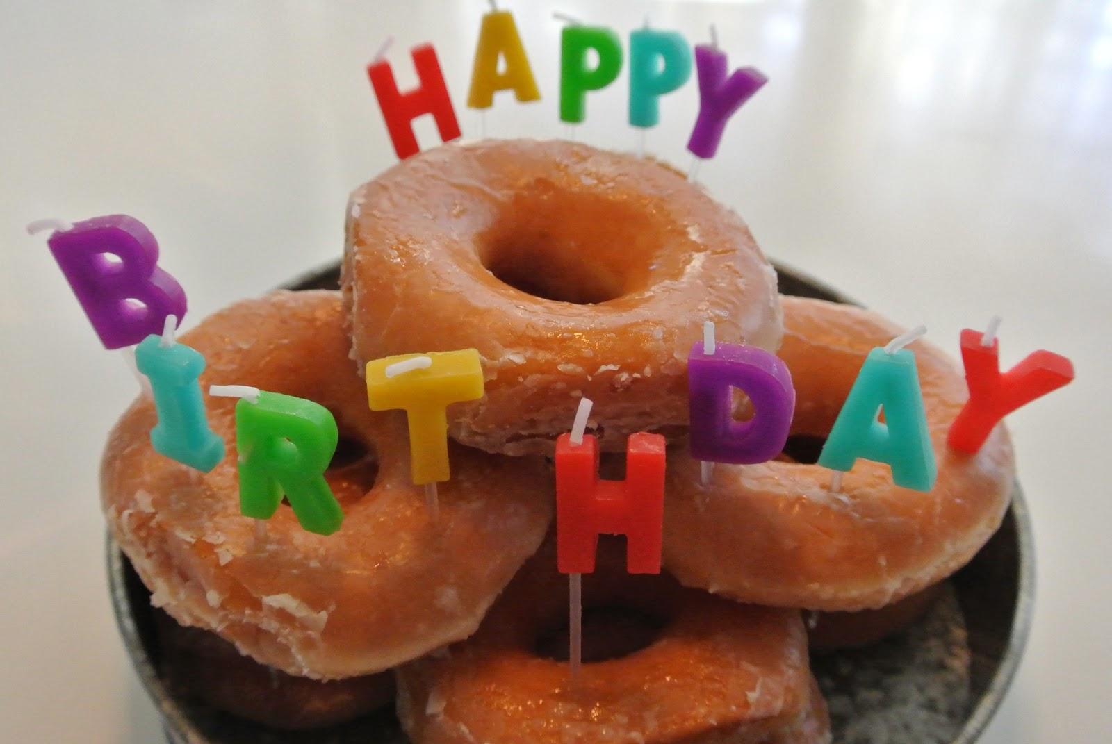 Happy Birthday Donuts! - GarvinAndCo.com