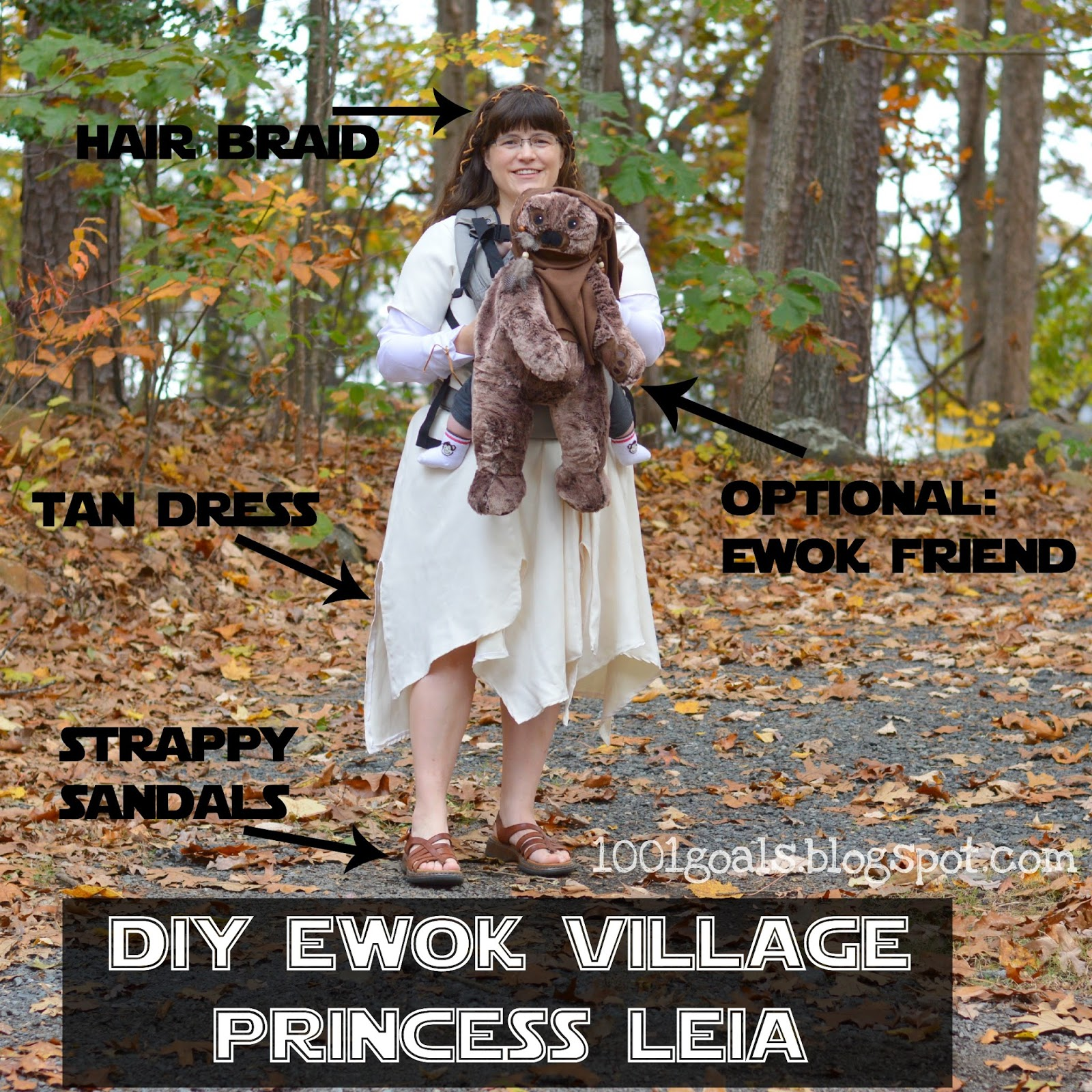 Wear Princess Leia Ewok