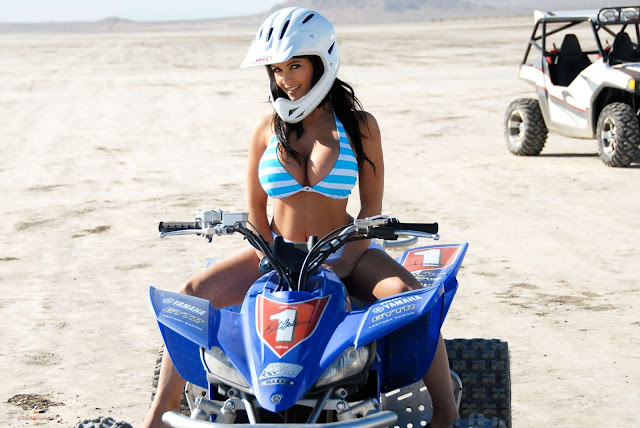 Denise Milani ATV hot and sexy Photoshoot picture 3