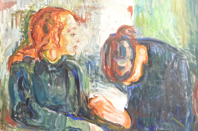 Stockholm Edvard Munch : l'enfant malade Thielska Galleriet Ile de Djugarden