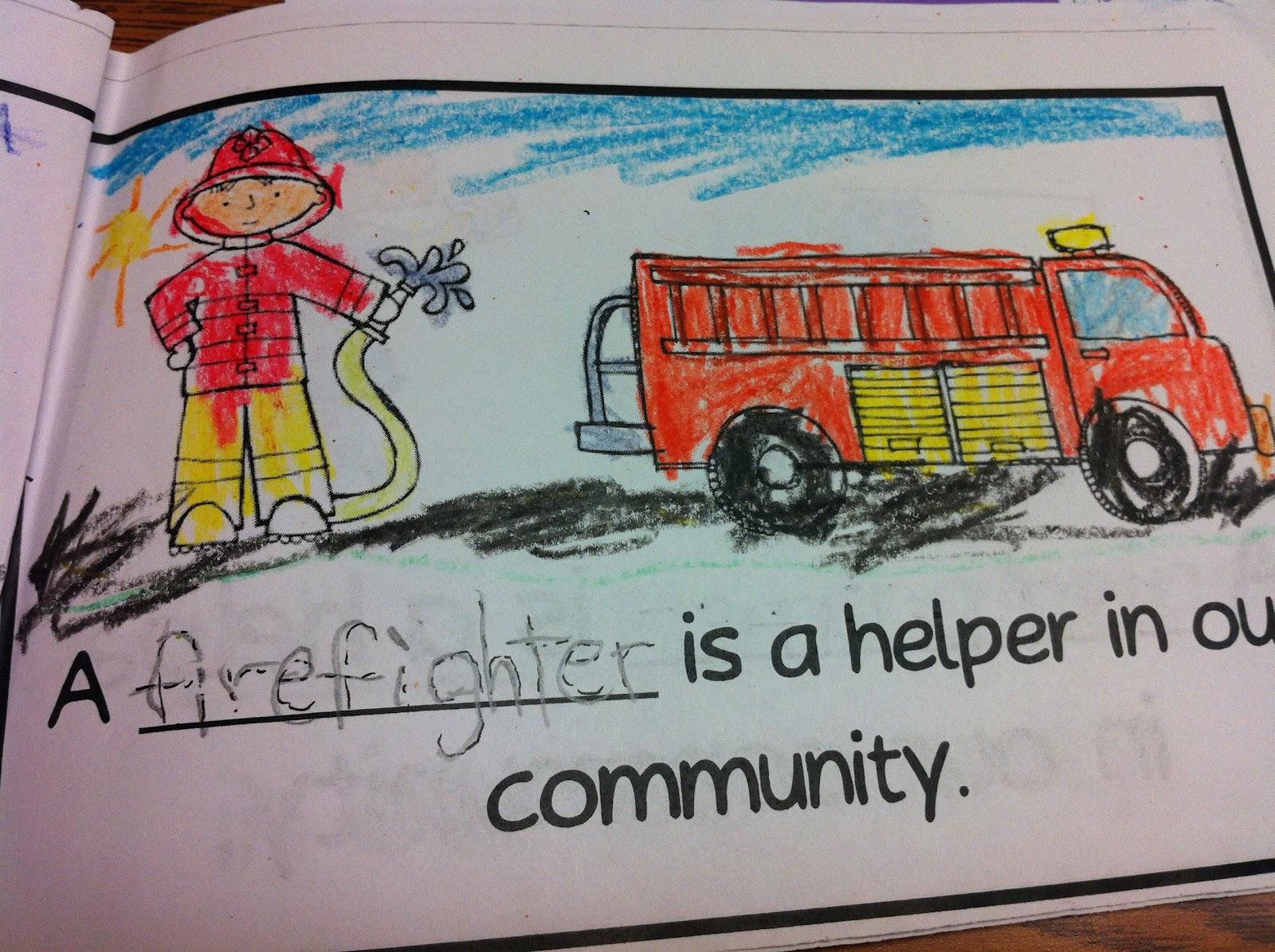 The Adventures Of A K 1 Teacher Community Helpers